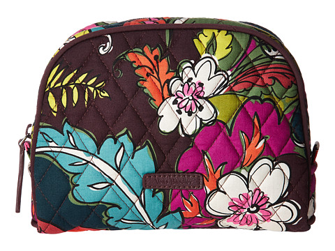 Vera Bradley Luggage Medium Zip Cosmetic - Autumn Leaves