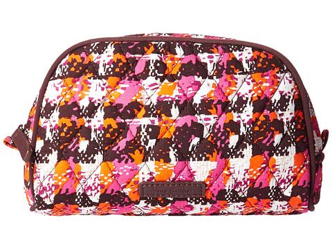 Vera Bradley Luggage Small Zip Cosmetic - Houndstooth Tweed