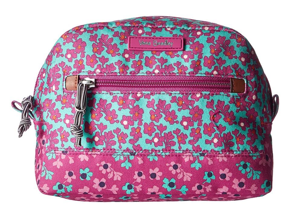 Vera Bradley Luggage Lighten Up Medium Cosmetic (Ditsy Dot) Cosmetic Case