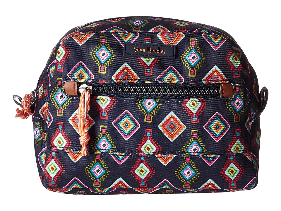 Vera Bradley Luggage Lighten Up Medium Cosmetic (Mini Medallions) Cosmetic Case