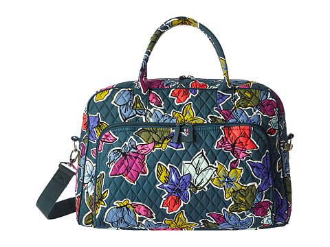 Vera Bradley Luggage Weekender - Falling Flowers