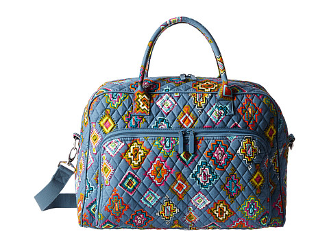 Vera Bradley Luggage Weekender - Painted Medallions