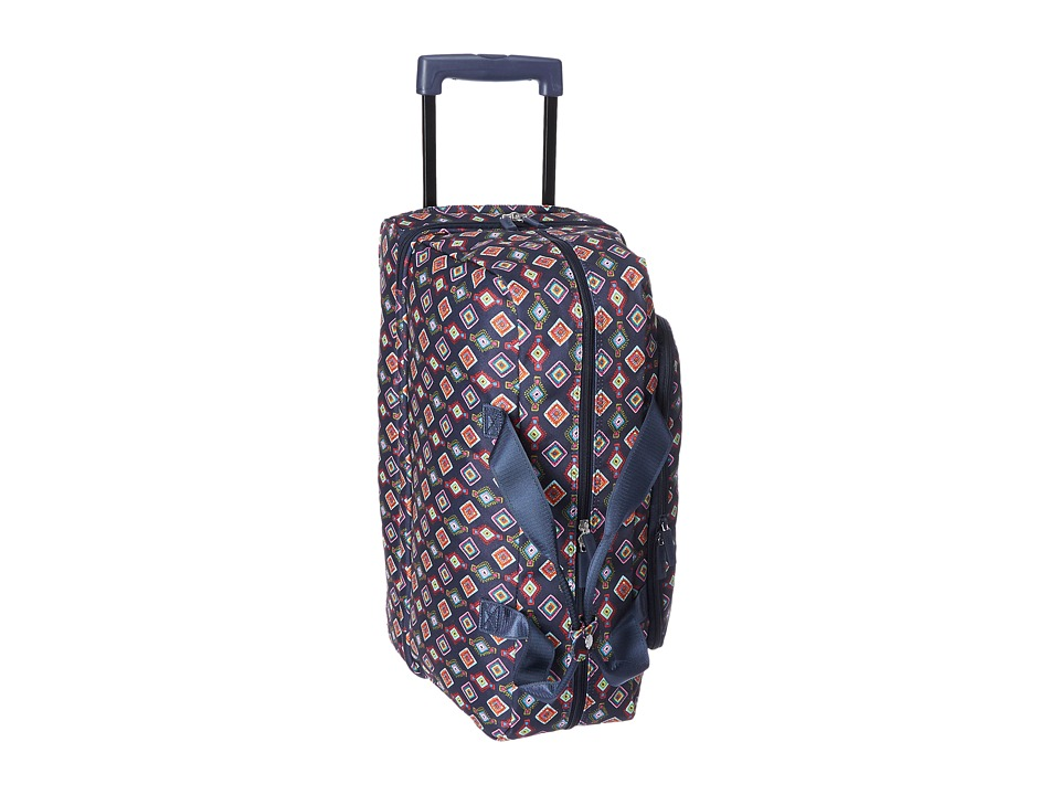 Vera Bradley Luggage Lighten Up Wheeled Carry-on (Mini Medallions) Carry on Luggage