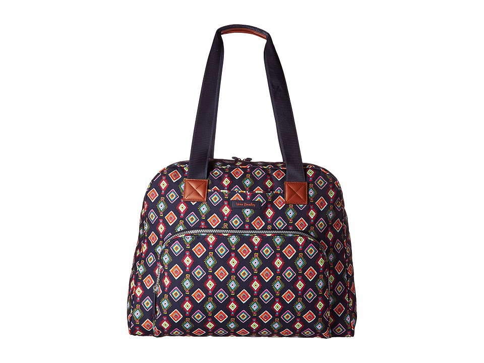 Vera Bradley Luggage Go Anywhere Carry-On (Mini Medallions) Carry on Luggage