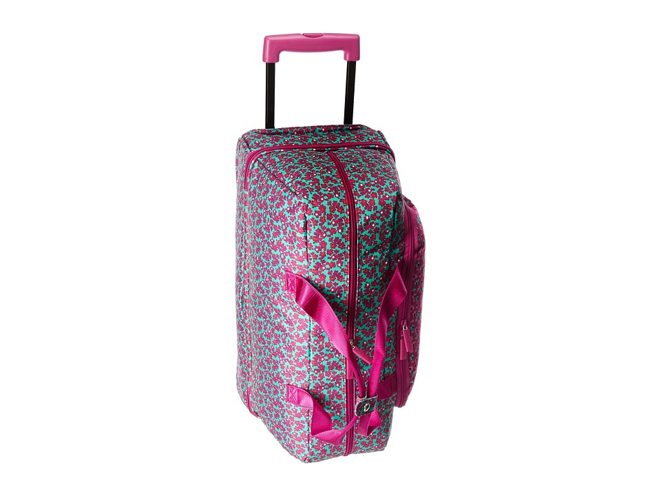 Vera Bradley Luggage Lighten Up Wheeled Carry-on (Ditsy Dot) Carry on Luggage