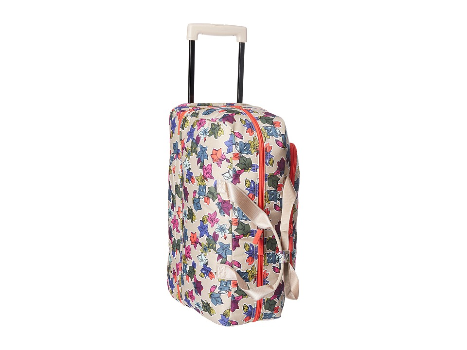 Vera Bradley Luggage Lighten Up Wheeled Carry-on (Falling Flowers Neutral) Carry on Luggage