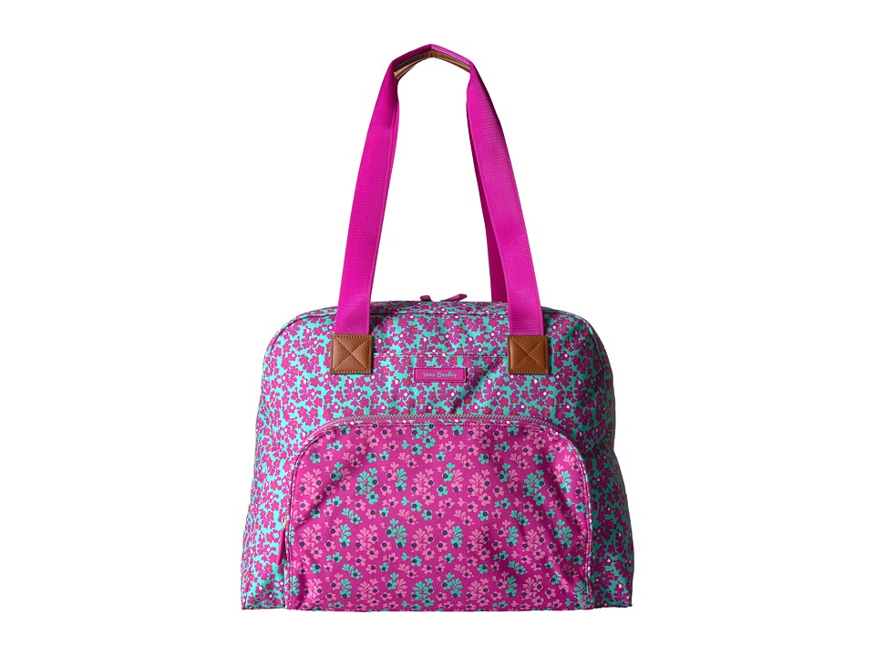 Vera Bradley Luggage Go Anywhere Carry-On (Ditsy Dot) Carry on Luggage