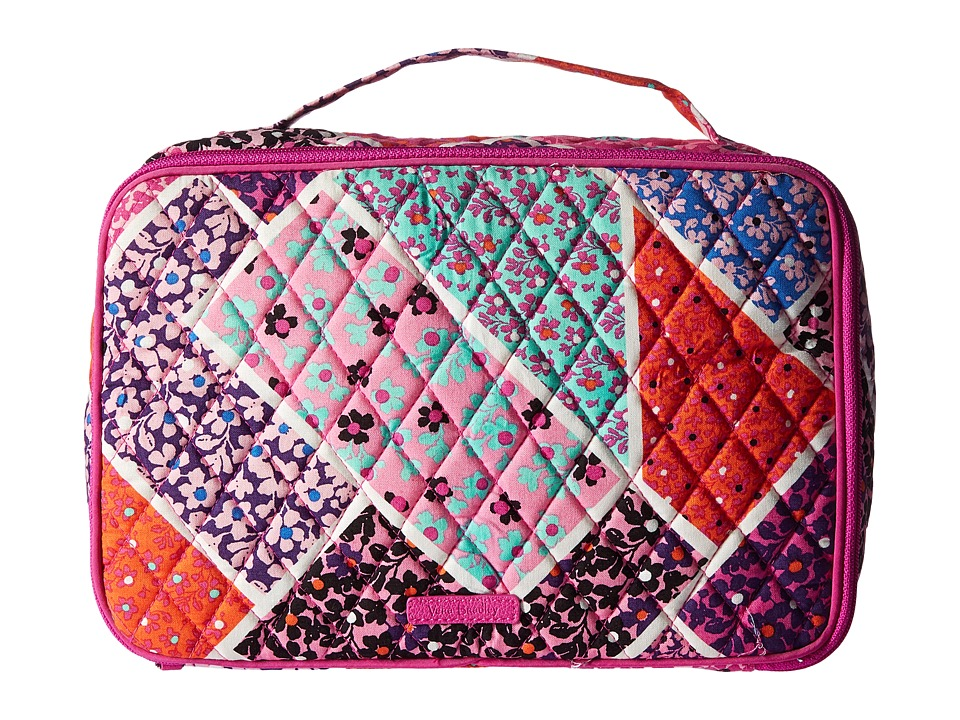 Vera Bradley Luggage Large Blush Brush Makeup Case (Modern Medley) Cosmetic Case