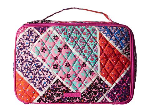 Vera Bradley Luggage Large Blush & Brush Makeup Case - Modern Medley