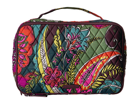 Vera Bradley Luggage Large Blush & Brush Makeup Case - Autumn Leaves