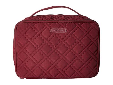 Vera Bradley Luggage Large Blush & Brush Makeup Case - Hawthorn Rose