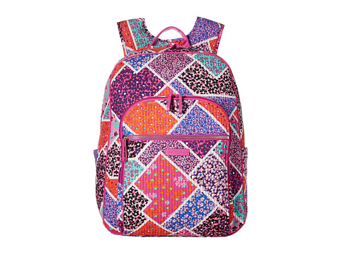 Vera Bradley Iconic Deluxe Campus Backpack - Modern Medley