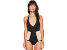 Fireside Color Block One-Piece