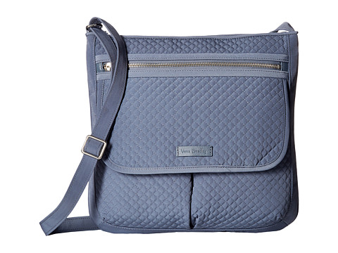 Vera Bradley Iconic Mailbag - Charcoal