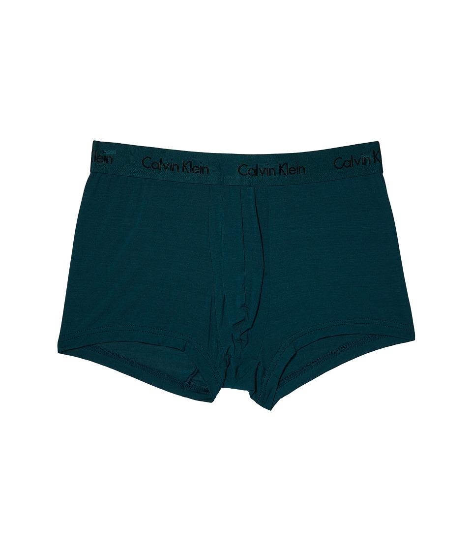 Calvin Klein Underwear - Micro Modal Trunk U5554 (Deep Te...