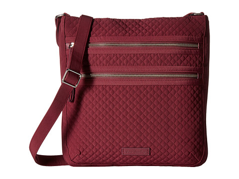 Vera Bradley Iconic Triple Zip Hipster - Hawthorn Rose