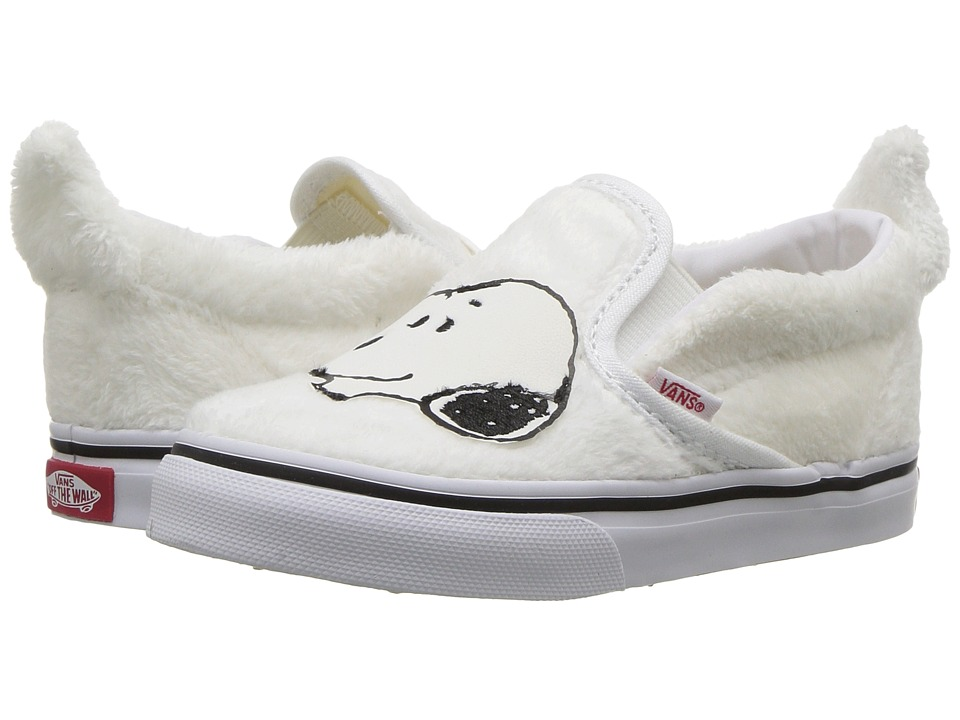 Vans Kids Classic Slip-On x Peanuts (Toddler) ((Peanuts) Snoopy/True White) Kids Shoes