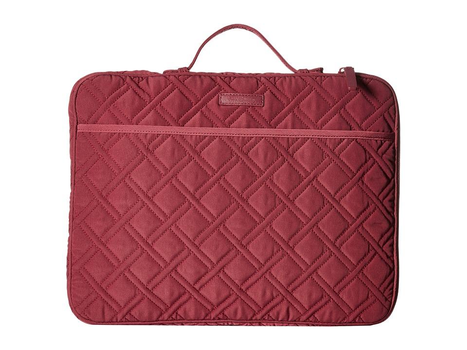 Vera Bradley Laptop Organizer (Hawthorn Rose) Briefcase Bags