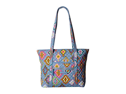 Vera Bradley Iconic Small Vera Tote - Painted Medallions