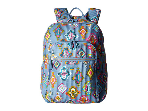 Vera Bradley Iconic Deluxe Campus Backpack - Painted Medallions