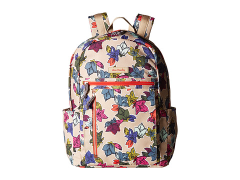 Vera Bradley Small Backpack - Falling Flowers Neutral