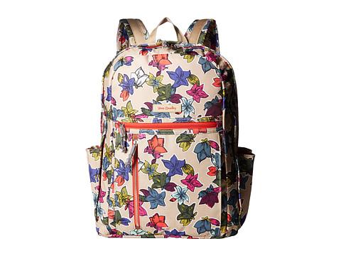 Vera Bradley Grand Backpack - Falling Flowers Neutral