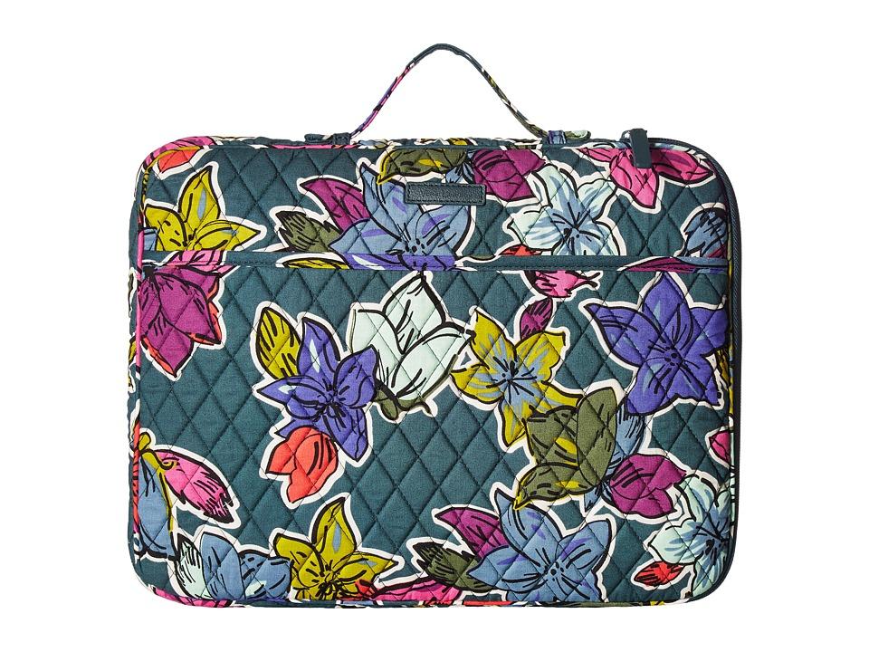 Vera Bradley Laptop Organizer (Falling Flowers) Briefcase Bags