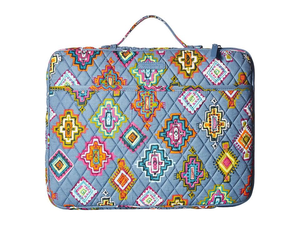 Vera Bradley Laptop Organizer (Painted Medallions) Briefcase Bags