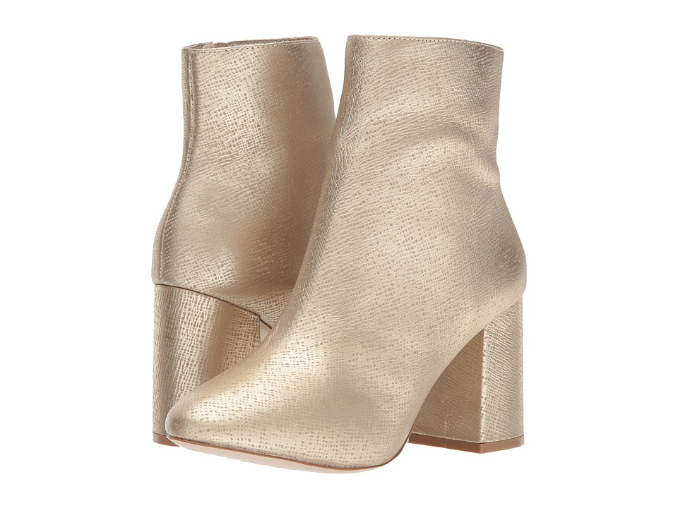 Vintage Style Boots, Retro Boots, Granny Boots, Fur Top Boots Matisse - Grove Gold Womens Shoes $204.95 AT vintagedancer.com