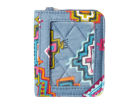 Vera Bradley Iconic RFID Campus Double ID - Painted Medallions