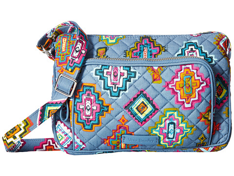 Vera Bradley Iconic RFID Little Hipster - Painted Medallions
