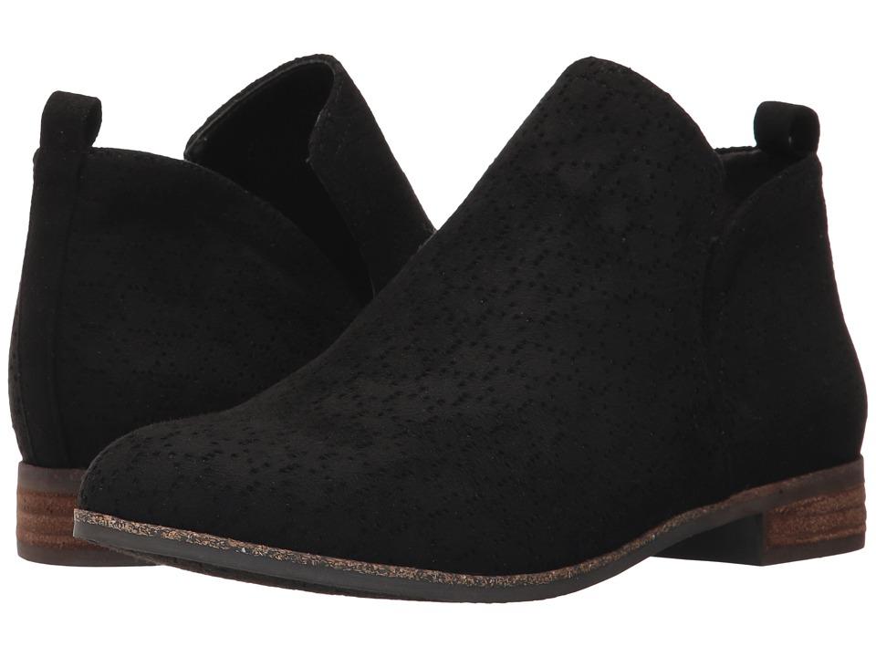 Dr. Scholl's Rate (Black Microfiber) Women's Shoes