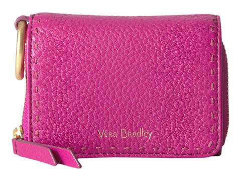 Vera Bradley RFID Mallory Card Case - Wild Berry
