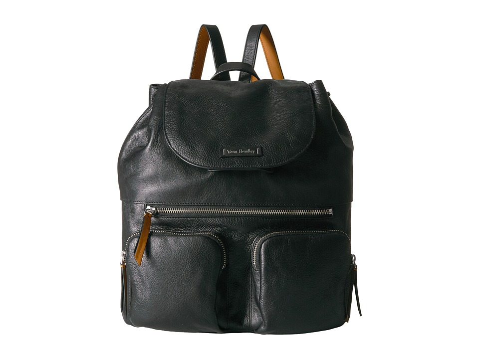 Vera Bradley Gallatin Cargo Backpack (Black) Backpack Bags