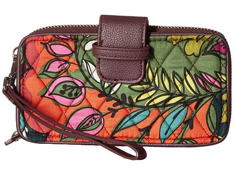 Vera Bradley RFID Smartphone Wristlet - Autumn Leaves