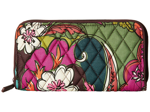 Vera Bradley RFID Georgia Wallet - Autumn Leaves