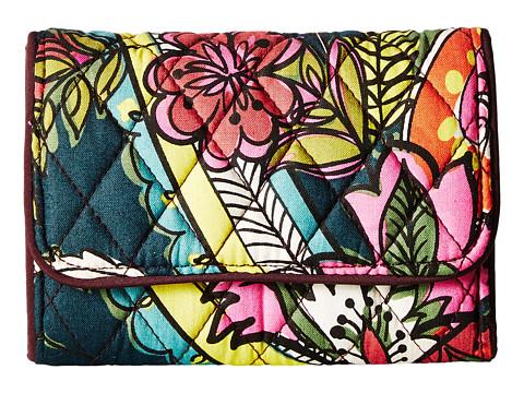 Vera Bradley Rfid Riley Compact Wallet - Autumn Leaves