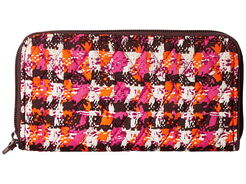 Vera Bradley RFID Georgia Wallet - Houndstooth Tweed