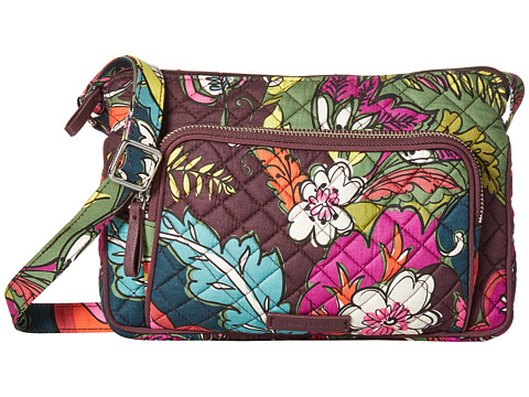 Vera Bradley Iconic RFID Little Hipster - Autumn Leaves