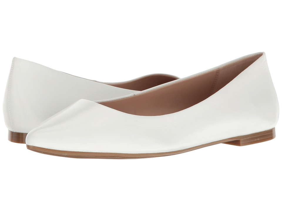 BCBGeneration Millie (White Leather) Women