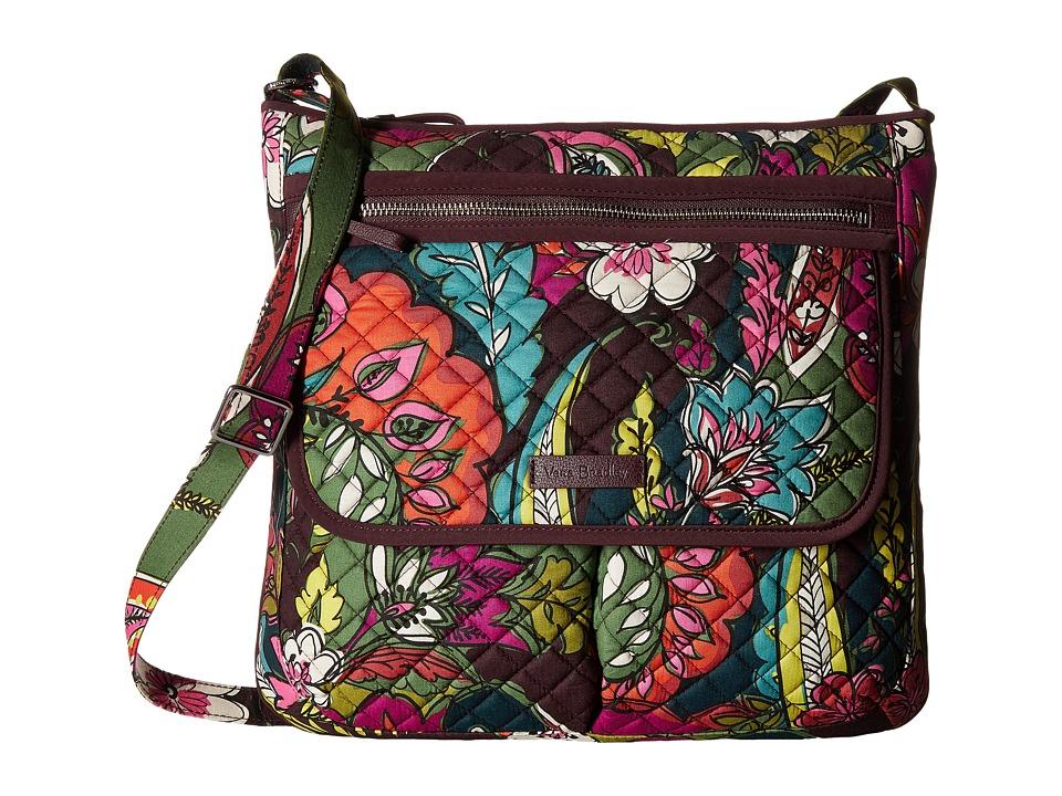 Vera Bradley - Iconic Mailbag (Autumn Leaves) Handbags