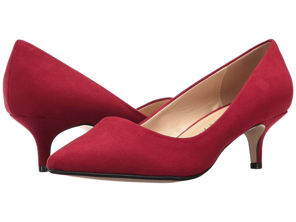 Athena Alexander Teague (Red Suede/Faux Suede) Women