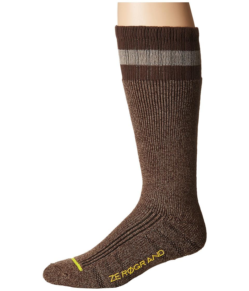 Cole Haan ZeroGrand Boot Sock (Java/Morel) Men