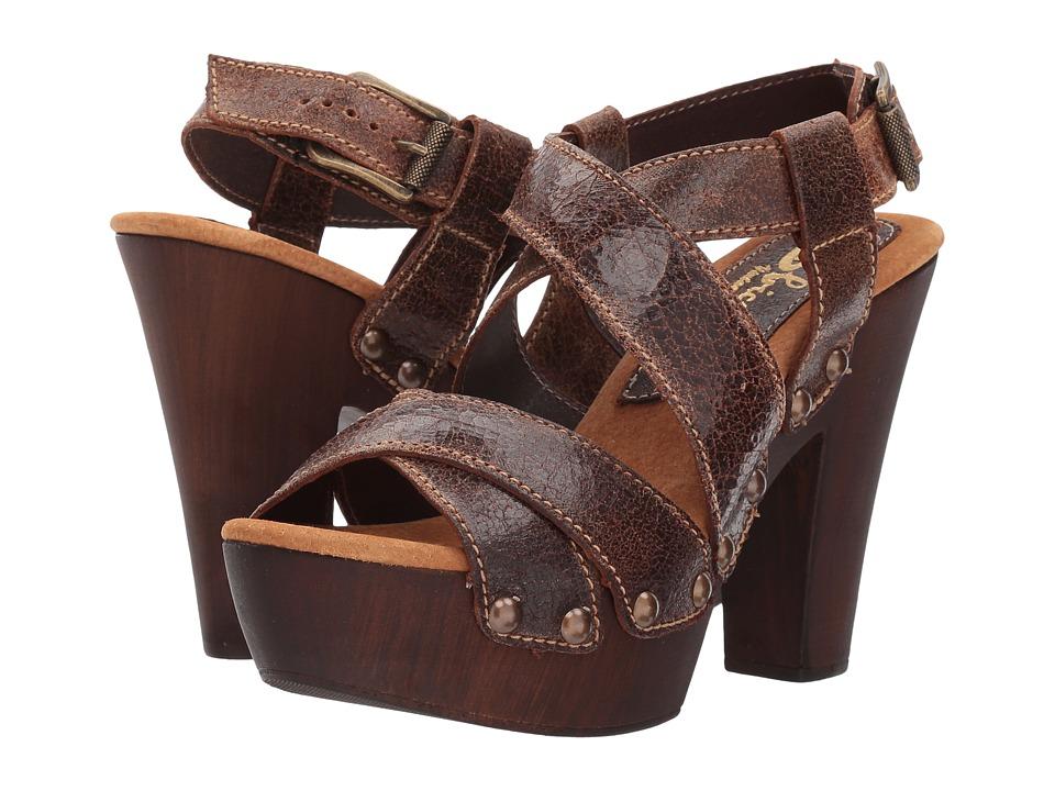 Sbicca Medley (Brown) High Heels