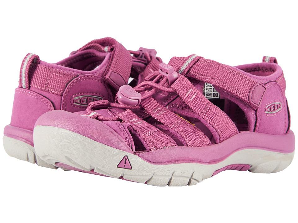 Keen Kids Newport H2 (Little Kid/Big Kid) (Grape Kiss) Girls Shoes