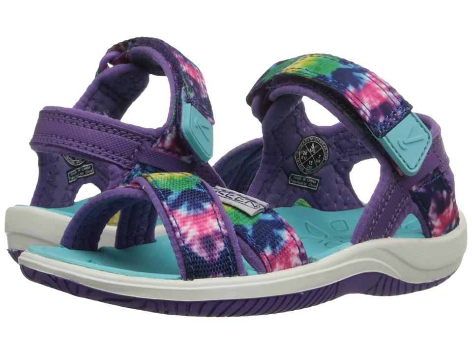 Keen Kids - Phoebe (Toddler/Little Kid) (Navy Tie-Dye) Girls Shoes