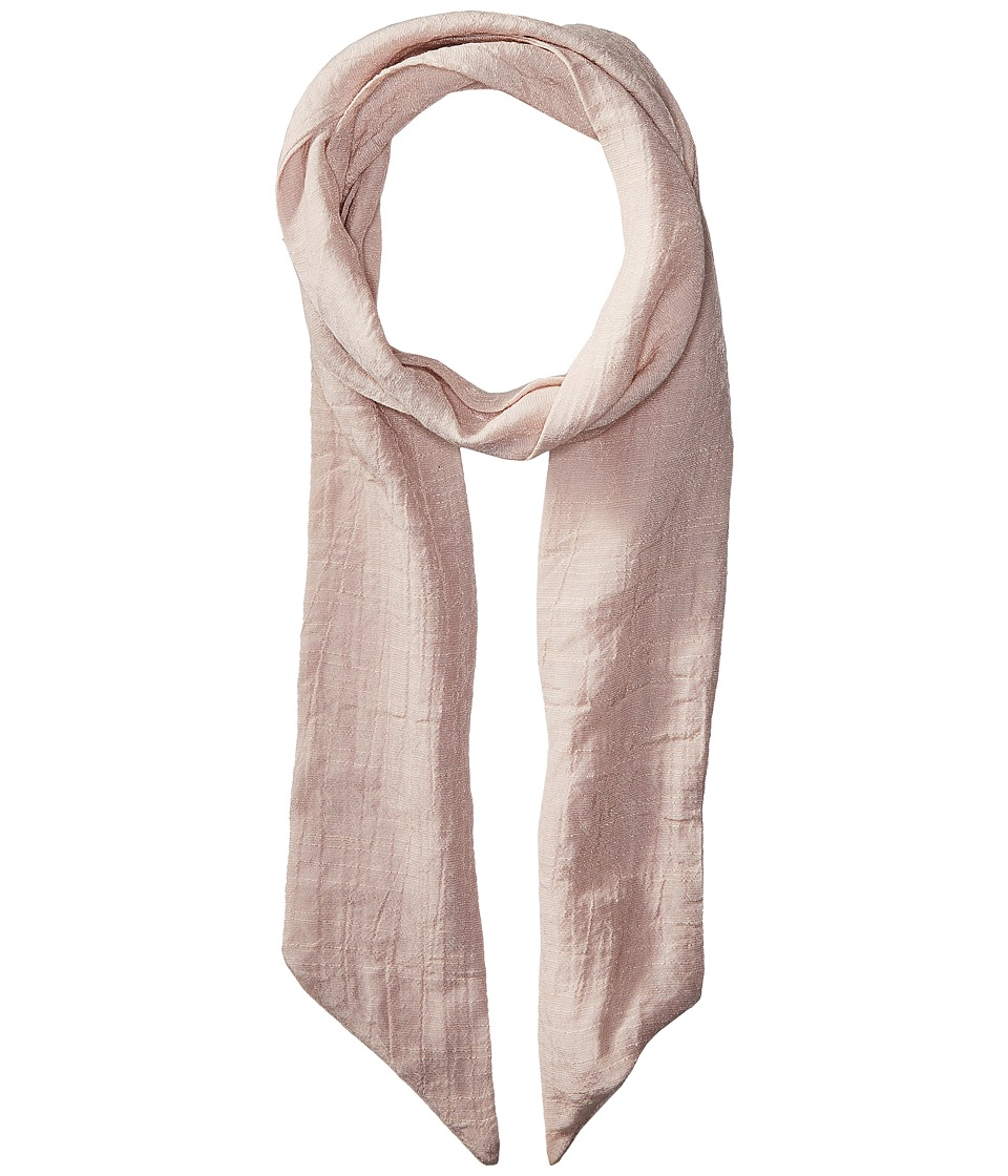 Vanessa Mooney The Amaia Scarf Necklace (Blush) Scarves