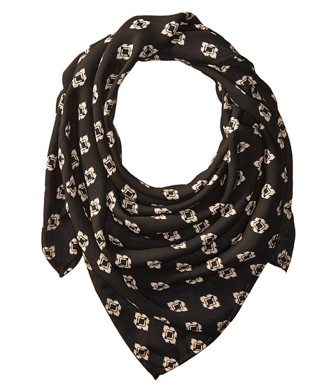 Vanessa Mooney The Mosaic Rush Bandana Necklace - Black