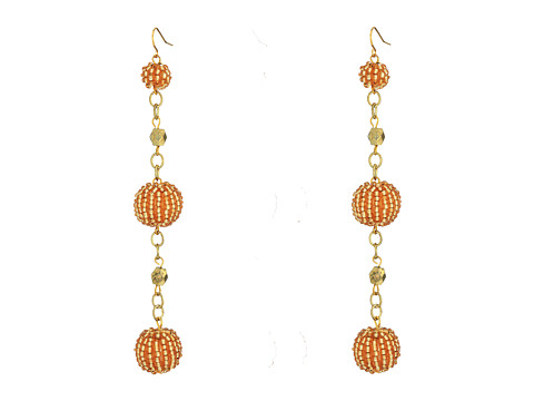 Vanessa Mooney The Kennedy Earrings - Champagne