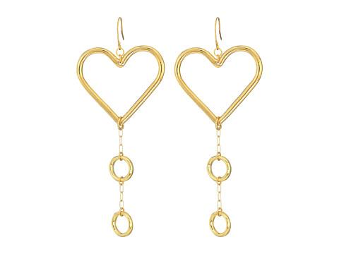 Vanessa Mooney Our Devotion Earrings - Gold